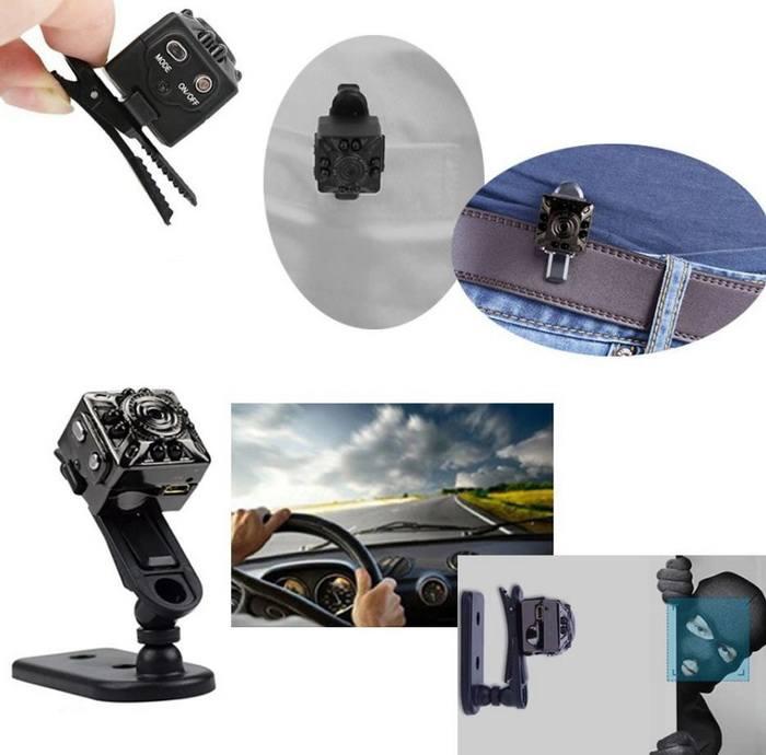 Micro caméra espion utilisations multiples