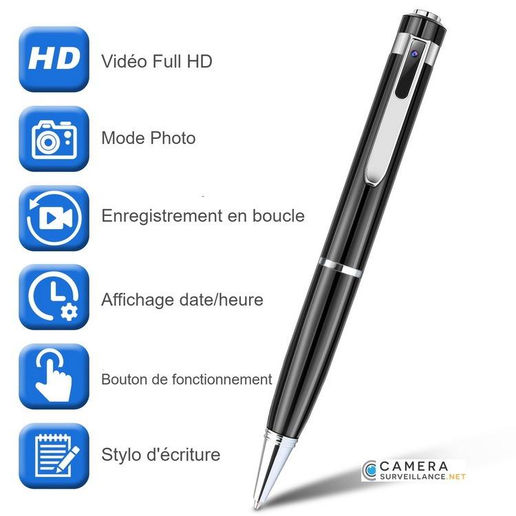 Mini caméra stylo espion tous les avantages