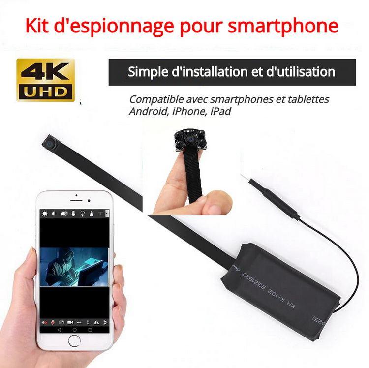 Module kit espionnage pour smartphone