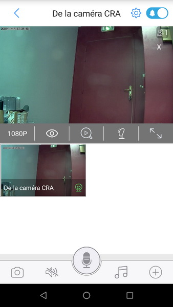 Capture d'écran appli GR0038