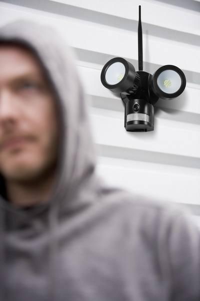 Caméra de surveillance projecteur LED