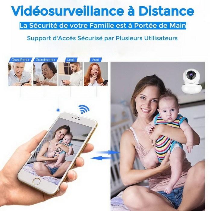 Vidéosurveillance à Distance