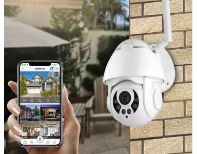 La nouvelle caméra WiFi extérieure motorisée GR0038